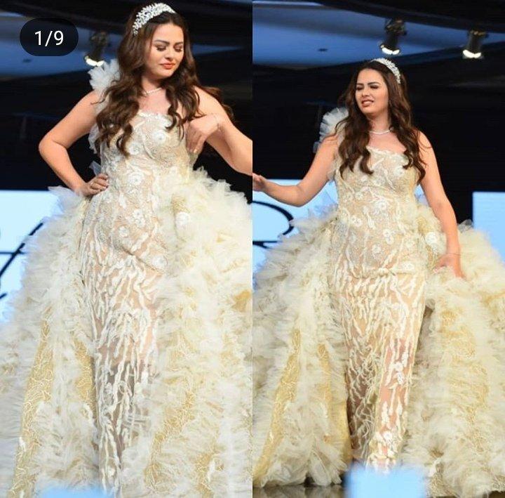 هنادي مهنا ترتدي فستان زفاف بـ8 مليون جنية