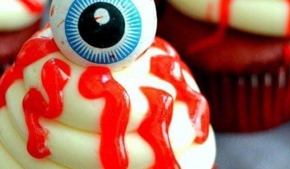 حلوى الهالوين المخيفة